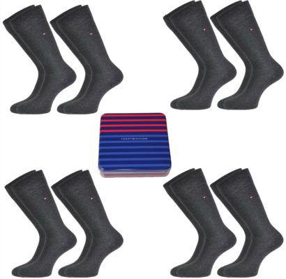 Tommy Hilfiger   Herren Classic Socken 8er Geschenkbox für 34,95€
