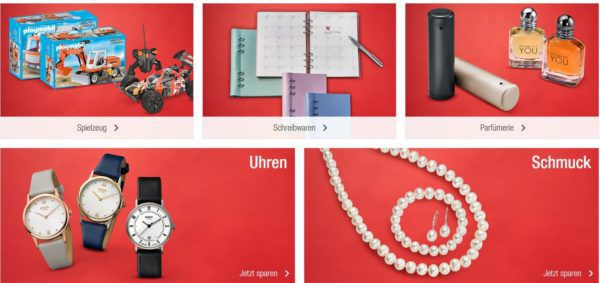 Galeria Kaufhof: Sale mit bis zu 70% Rabatt   günstige Sport und Fashion Artikel, Spielzeug, Schmuck uvam.