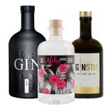 3 verschiedene Gins (GINSTR, Aloha & Gansloser Black) im Set für 64,95€