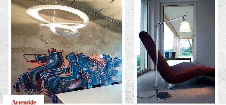 Artemide Lampen Sale bei vente privee   z.B. Stehleuchte Ilio ab 479€ (statt 618€)