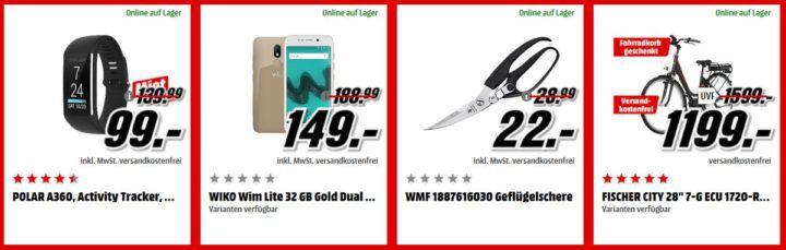 Media Markt Adventskalender Tag 8: z.B. ROLLEI 416 Action Cam für 49€   Logitech Harmony 665 für 49€