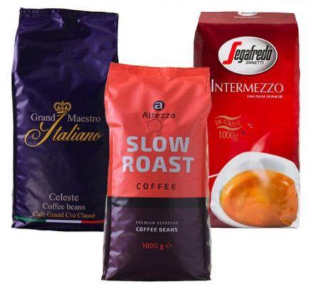 Kaffeevorteil: Oster Kaffeebohnen Set (3 x 1kg) für nur 29,99€