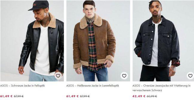 Asos: 15% Rabatt auf Alles außer Sale   30% Rabatt auf ausgewählte Winter Fashion