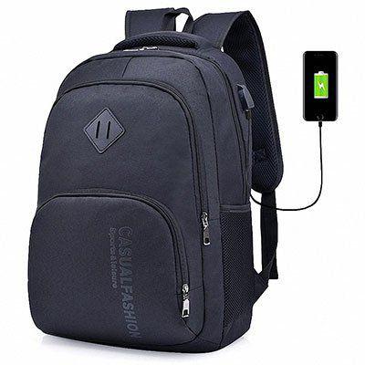 Lixada Rucksack mit USB Anschluss für 13,11€