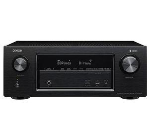 Denon AV Receiver AVRX2400H mit 7.2 Kanälen, WLAN, 4K, Dolby Atmos für 309€ (statt 379€)   Prime Day