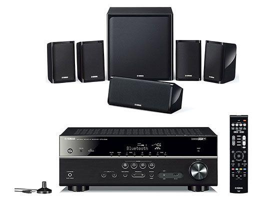 Yamaha YHT 4940 EU 5.1 Heimkinosystem (WLAN, Bluetooth, Spotify, Subwoofer) für 405,99€ (statt 504€)