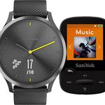 GARMIN vívomove HR Sport (L) + SANDISK SanDisk MP3 Player (8GB) für 180,99€ (statt 240€)