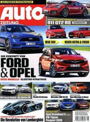 Auto Zeitung Jahresabo (25 Ausgaben) für 78,75€ inkl. 75€ BC Gutschein