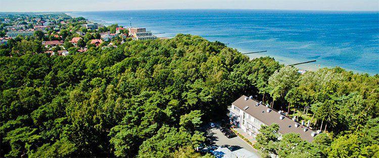 7 ÜN an der poln. Ostsee inkl. HP, Schwimmbad, Sauna & Teilkörpermassage für 160€ p.P.