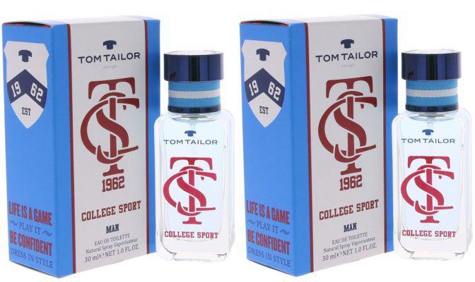 2er Pack Tom Tailor Eau de Toilette (2 x 30 ml) für 9,99€ (statt 18€)