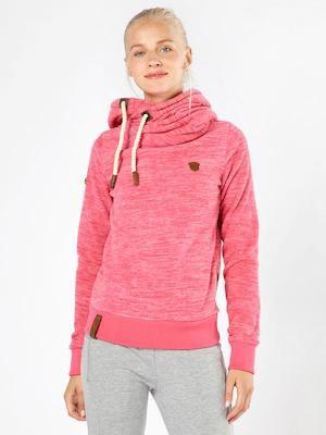 Naketano Damen Fleece Hoodie in Rosa für 39,92€ (statt 59€)