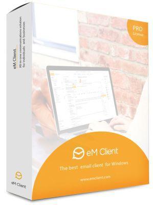 eM Client (Vollversion, Jahreslizenz) gratis