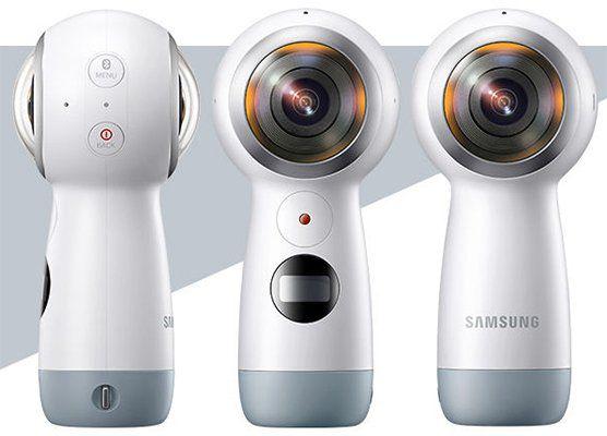 Samsung Gear 360 (2017) für 75,90€ (statt 109€)