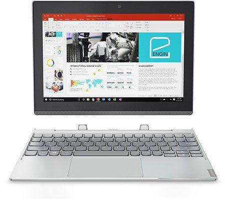 Lenovo Miix 320 10ICR 2 in 1 Notebook mit 2GB 64GB eMMC Win 10 für 212€ (statt 240€)