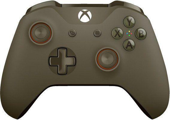 Xbox One Wireless Controller (Olivgrün) für 44,99€ (statt 54€)