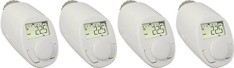 4er Set eQ 3 Typ N Thermostate für Heizungen für 30,53€ (statt 40€)