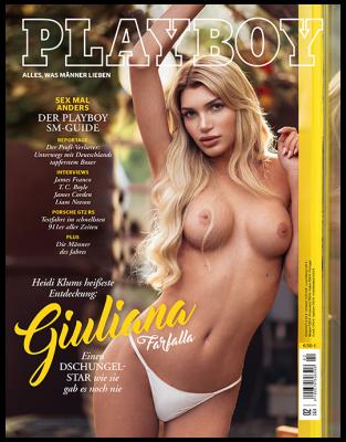 3 Ausgaben von Playboy für 12,90€ + 10€ Verrechnungsscheck