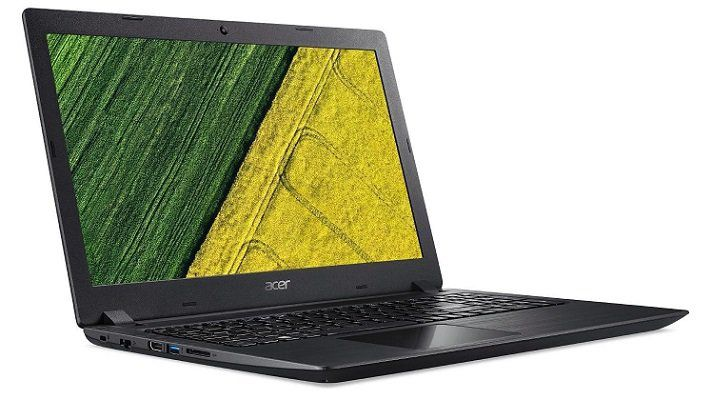 ACER Aspire 3 (A315 51 590U) Notebook mit 15.6, i5, 4GB RAM und 1TB HDD für 366€ (statt 450€)