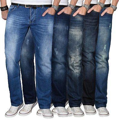 A. Salvarini – Comfort Fit Herren Jeans ab 29,90€   eBay Plus nur 26,91€