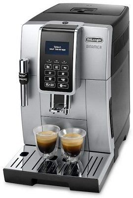 DeLonghi DINAMICA ECAM 350.35.SB Kaffeevollautomat für 399€ (statt 459€)