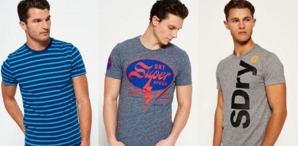 Verschiedene Superdry Shirts für Damen und Herren für 15,95€