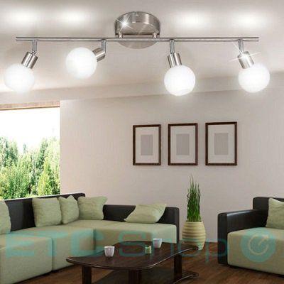 WOFI LED Deckenleuchte Nois mit 4 x 5 Watt (warmweiß) für 19,99€ (statt 34€)