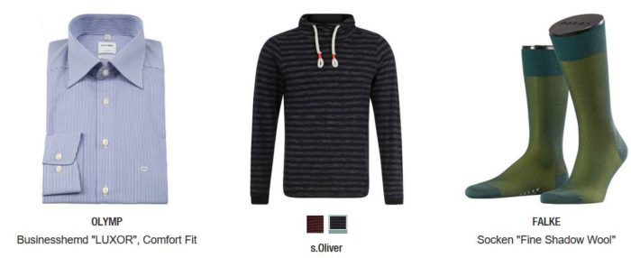Kaufhof 20% Rabatt auf Damen  Herren Fashion und Sportbekleidung: z.B. ESPRIT Collection Herren Sakko für nur 55,99€