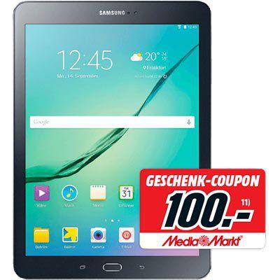 Samsung Galaxy Tab S2   9,7 Zoll WLAN Tablet mit 32GB für 369€ + 100€ Gutschein (statt 354€)