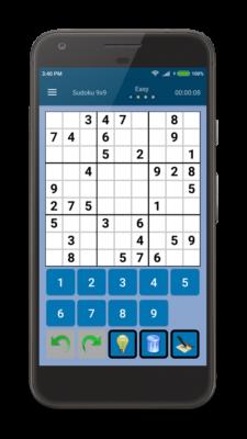 Classic Sudoku Pro für Android gratis (statt 1,59€)