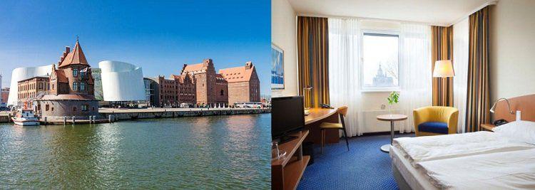 ÜN im 4* Hotel in Stralsund inkl. Frühstück & Fitness für 34,50€ p.P.