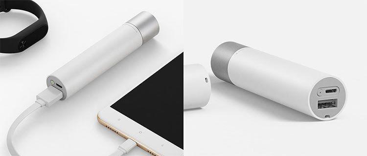 2in1 Xiaomi Taschenlampe & Powerbank (240 Lumen, Alugehäuse, 11 Modi) für 16,93€