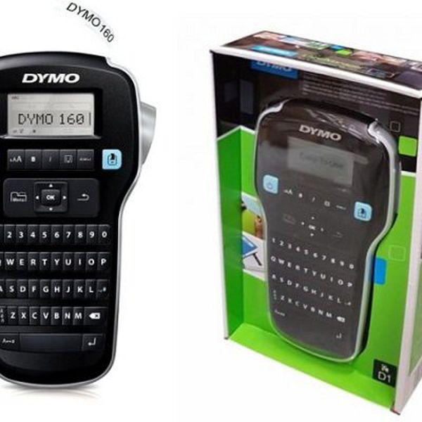 Dymo LabelManager 160D   Etikettiermaschine mit QWERTY Tastatur für 17,99€ (statt 26€)