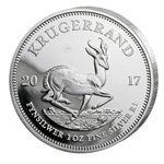 Krügerrand – 1 Unzen Silbermünze aus dem Jahrgang 2017 für 29,90€ (statt 45€)