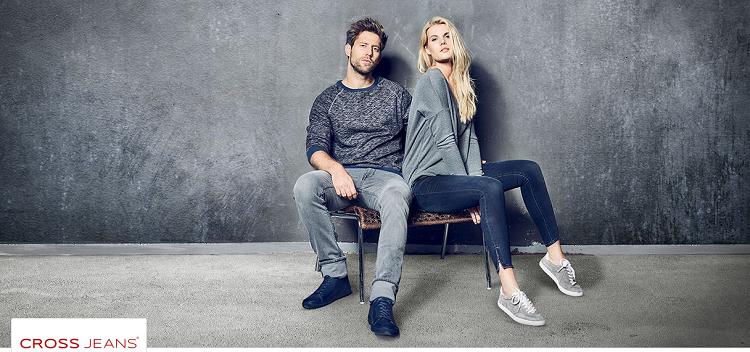 Cross Jeans Sale bei Vente Privee für Damen und Herren   z.B. Pullover ab 15,90€