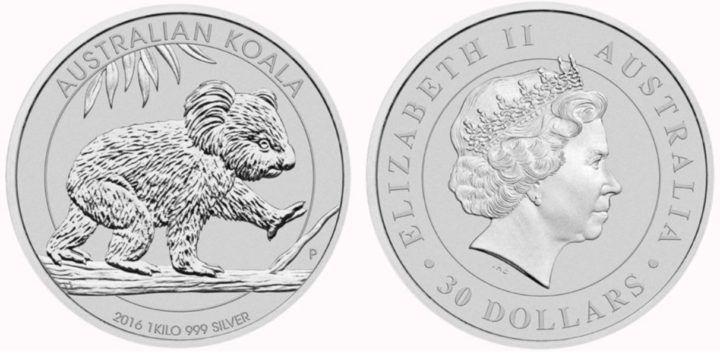 30 Au Münze 1kg Silber 999 Für 530