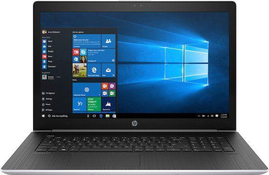 HP ProBook 470 G5   17,3 Zoll Full HD Notebook mit 256GB + 1TB + Win 10 Pro für 719€ (statt 819€) + 50€ Cashback