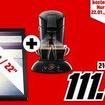 Philips 22PFS4022 + 22″ Zoll TV + PHILIPS SENSEO HD6554 Padmaschine für 111€ (statt 188€)