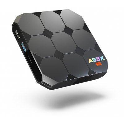 A95X R2 TV Box mit Fernbedienung, 2GB RAM & 16GB ROM für 25,70€