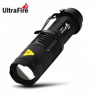 Ultrafire UK Cree Q5 300 Lumen Wasserdichte Taschenlampe für 1,37€