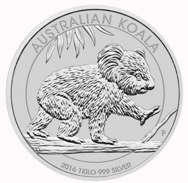 30 AU$ Münze   1kg Silber 999 für 529€