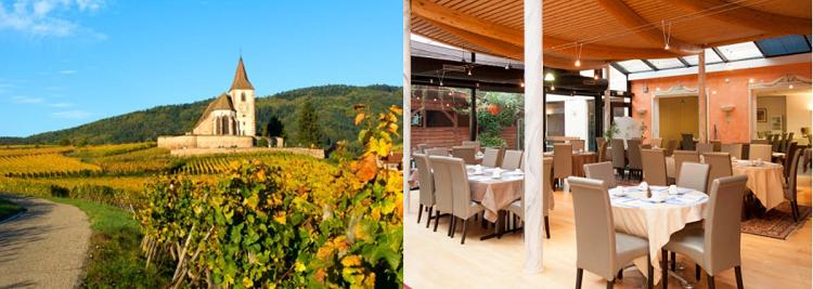 3 ÜN im 2* Hotel in den Vogesen inkl. Frühstück, Weinverkostung & 4 Gänge Dinner ab 79€ p.P.