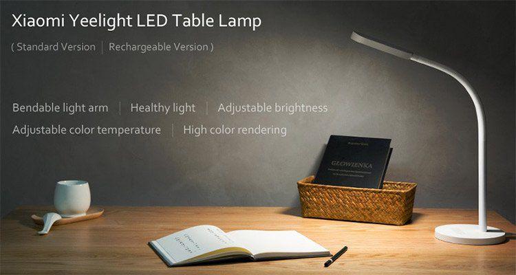 Xiaomi Yeelight YLTD02YL LED Tischlampe für 21,08€