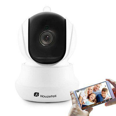 Houzetek 720P HD WiFi Cam mit Motion Detection & Night Vision für 14,40€ (statt ~22€)