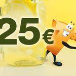 Plus.de Staffelrabatt Aktion mit bis zu 25€ Rabatt bis Mitternacht