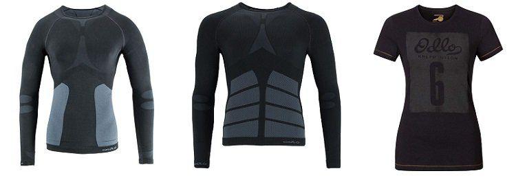Skibekleidung von Odlo und Sinner bei TOP12   z.B. Odlo Evolution Warm Crew Neck Funktionsshirt für 19,12€ (statt 39€)