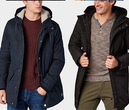 25% Rabatt auf alle Jacken und Mäntel bei Tom Tailor