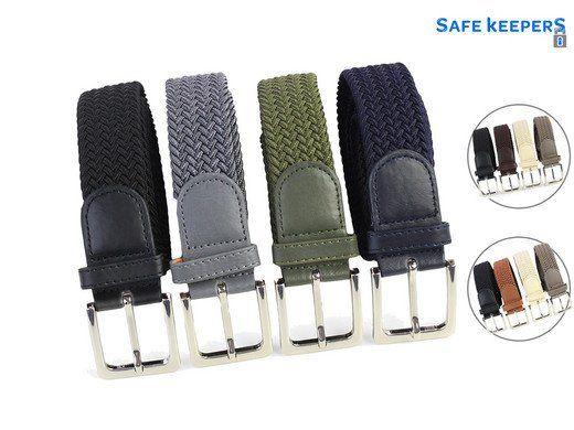 4er Set Safekeepers Elastische Gürtel für 30,90€ (statt 40€)