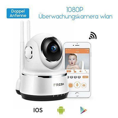 FREDI 1080p WLAN Kamera mit vielen Funktionen für 29,99€ (statt 50€)