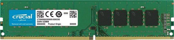 Crucial CT16G4DFD824A 16GB 2400 MHz DDR4 RAM für 129€ (statt 146€)