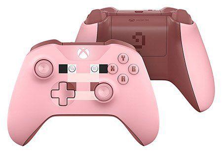 Xbox Wireless Controller in der Minecraft Pig Edition für 38,01€ (statt 44€)
